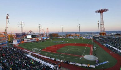 MCU Park, a unique location in New York