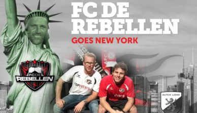 "NYDL FC brings ""FC de Rebellen Show"" to New York"